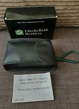 Lloyds Bank Headway 35mm camera built in flash new collectable