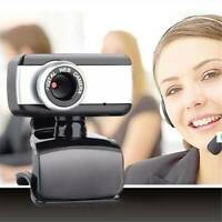50.0 Mega Pixel USB 2.0HD Camera Webcam Clip Web Cam With Microphone For PC MSF