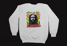 Vintage Peter Tosh Sweatshirt 80s Medium Reggae Rastafari Rare 50/50