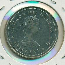1982 CONSTITUTION CANADA DOLLAR, ALMOST UNC./BRILLIANT UNC., GREAT PRICE!
