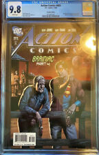 Action Comics #869 CGC NM/M 9.8 White Pages Recalled Beer Bottle Edition!