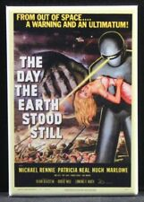 "The Day the Earth Stood Still Movie Poster 2"" X 3"" Fridge / Locker Magnet."