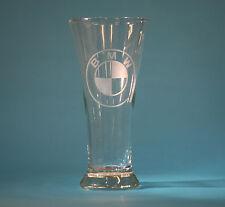BMW 20oz CUSTOM ETCHED PILSNER GLASS X5 Z3 Z4 M3 M5 330 540 850 745 320 2002