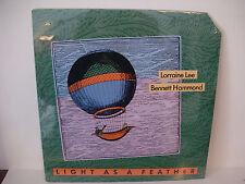 Lorraine Lee & Bennett Hammond, Light As A Feather, 1988, Shanachie 95010 SEALED