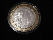 10 EURO IERLAND 2006 PROOF SAMUEL BECKETT IN METALEN RING KNM