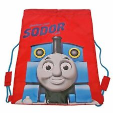 Licensed Thomas the Tank Engine Sodor Library Sport PE Drawstring Trainer Bag