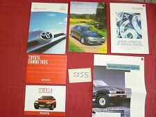 N°5355 / TOYOTA 5 catalogues 1985-2004