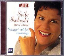 Soile ISOKOSKI: SUOMENI SULOKSI Melartin Sonninen Merikanto Kilpinen Pacius CD