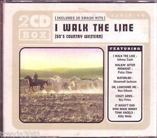 I Walk the Line 50s Country Western 2CD Classic Great DON GIBSON RAY PRICE