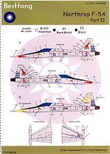 Bestfong Decals 1/144 NORTHROP F-5A FREEDOM FIGHTER Part 2
