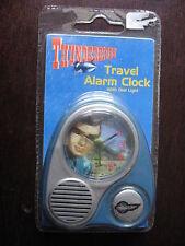 THUNDERBIRDS INTERNATIONAL RESCUE TRAVEL ALARM CLOCK GARRY ANDERSON