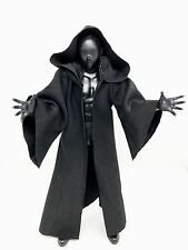 "MY-R-BK: FIGLot Black Fabric Cloak Robe for 6"" Star Wars Figures"