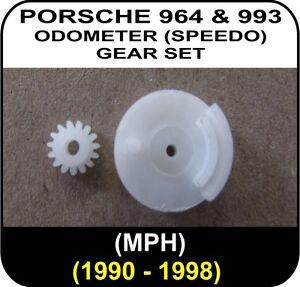 [D0] Porsche 964 993 (911) SPEEDOMETER Repair 15 & 17 Gear Set Kit 1990 to 1998