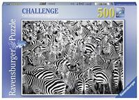 Ravensburger Italy 14807 Challenge of the Zebras Puzzle 500Pieces