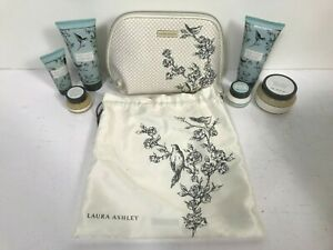 Laura Ashley Jasmine & Oriental Lily Toiletry Gift Set In Bag - NEW  C43