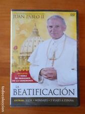 DVD JUAN PABLO II: LA BEATIFICACION - NUEVA, PRECINTADA (Y5)