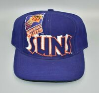 Phoenix Suns The Game Big Logo NBA Vintage 90's Adjustable Snapback Cap Hat