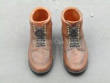 1/6 scale toy Indiana Jones - Classic - Brown Molded Shoes (Foot Type)