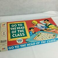 Vintage Go To The Head Of The Class Milton Bradley Board Game Series 17