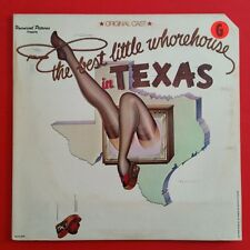 BEST LITTLE WHOREHOUSE IN TEXAS Soundtrack LP Vinyl VG+ GF 1978 MCA 3049