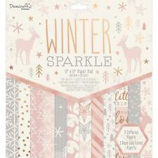 Dovecraft Winter Sparkle - 12x12 Paper Pad