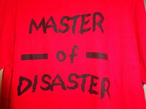 Shirt in rot Größe M mit lustigem Spruch
