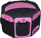 Travel Lite Portable Play Pen/Soft Crate with Removable Shade Top, Durable