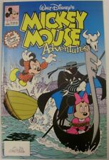 MICKEY MOUSE ADVENTURES 1-18 WALT DISNEY COMIC SET COMPLETE WOLFMAN 1990 VF+