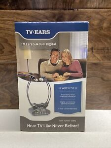 TV Ears 5.0 Dual Digital Wireless Headset System with 2 headsets Complete 11841