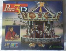 Vintage 2000 Puzz3D The Golden Carousel BNIB Sealed