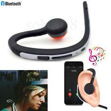 HD Voice Bluetooth Headset Earpiece Wireless Ear Hook Headphone for iPhone Nokia