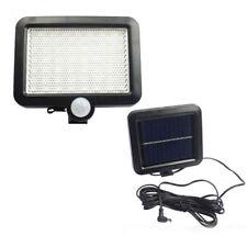 56 LED Motion Sensor Solar Powered Outdoor Garden Security Flood Light Spot  Lamp