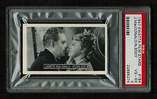 PSA 4 JEANETTE MacDONALD & NELSON EDDY 1947 Kwatta Chocolates Film Stars Card