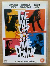 Tie Me Up Tie Me Down DVD 1989 Almodovar Spanish Erotic Hostage Drama Classic