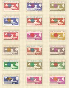 1965 OMNIBUS MNH ITU CENTENARY - 32 sets (64 stamps)