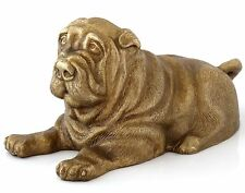 Shar Pei Puppy Bronze Sculpture Russian Art Dog Statue Animal Figurine 4.7""