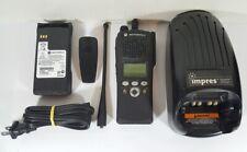 Motorola Xts2500 Uhf 450 520 Mhz Military Police Fire Ems Digital Two Way Radio
