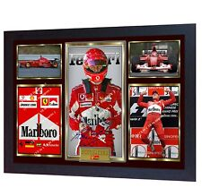 Michael Schumacher signed autograph Motor Sport Formula 1 photo Framed Printed