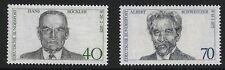 Allemagne Scott #1159-60 , Singles 1975 KIT COMPLET FVF MNH
