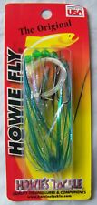 Original Howie Fly GLITTER AQUA Howie's Tackle 18 Great Trolling FLY 395