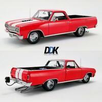 "ACME A1805411 1965 CHEVROLET EL CAMINO ""DRAG OUTLAWS"" RED DIECAST MODEL CAR 1:18"