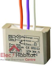 Télérupteur temporisé encastré 500W MTT500e Yokis 5454054