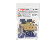 Assorted Electrolytic Capacitor Selection Kemo S005 Mixed Values Capacitors 50pc