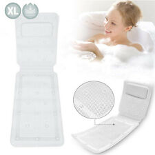 Bath Mat With Pillow Luxury Bath Pillow Cushioned Spa Bath Pillow Baby Bath