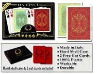 Da Vinci Persiano 100% Plastic Playing Cards - Poker Size Jumbo Index
