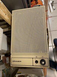 Oranier Gasheizung Gas Ofen Außenwandheizung Top Zustand!!! Erdgas H