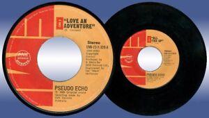 Philippines PSEUDO ECHO Love An Adventure 45 rpm Record