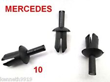 MERCEDES BENZ Boot Trim  Push Type Replacement Black Plastic Clips T59