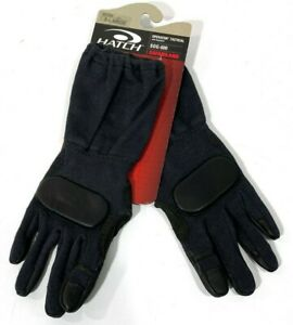 NEW HATCH SOG-600 OPERATOR TACTICAL GLOVES WITH GOATSKIN LEATHER BLACK XL
