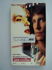 Love Is a Gun VHS Video Promo Screener Eric Roberts Kelly Preston Eliza Roberts